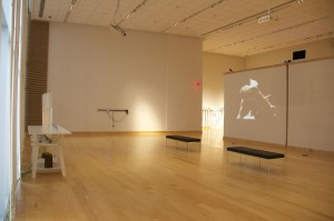 "Harmonic Laboratory exhibition ""Recurrent Constructions"" at Duke Gallery in Harrisonburg, VA."